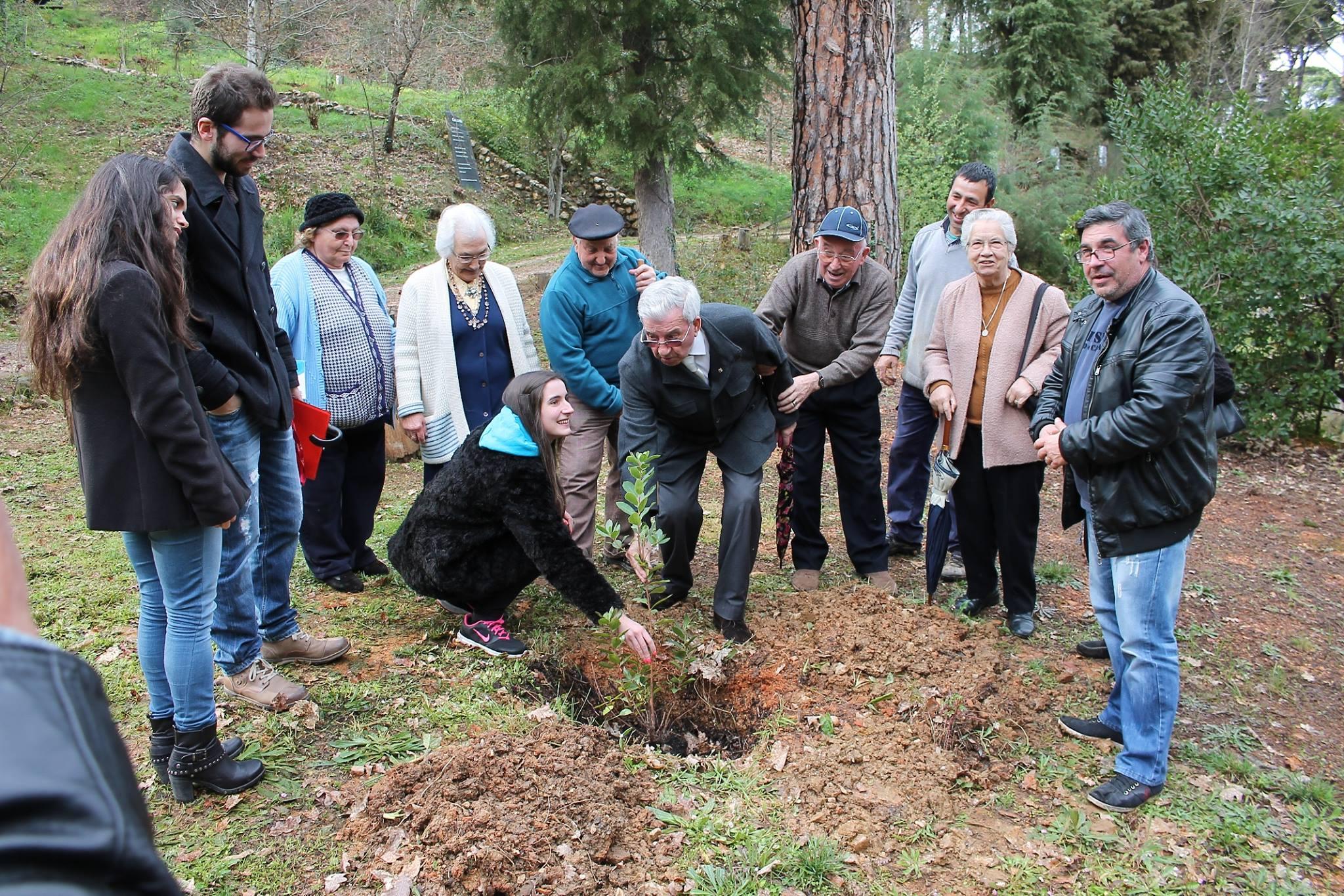 Misericórdia de Arganil recebe a CUME no Dia Mundial da Árvore
