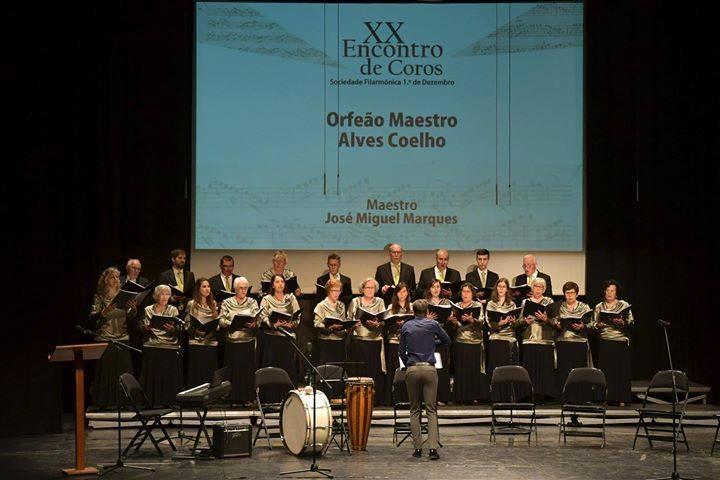 ORFEON MAESTRO ALVES COELHO NO MONTIJO