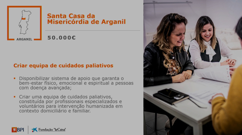 "O Reconhecimento do Projecto da Santa Casa da Misericórdia de Arganil ""DAR SENTIDO AOS DIAS"""