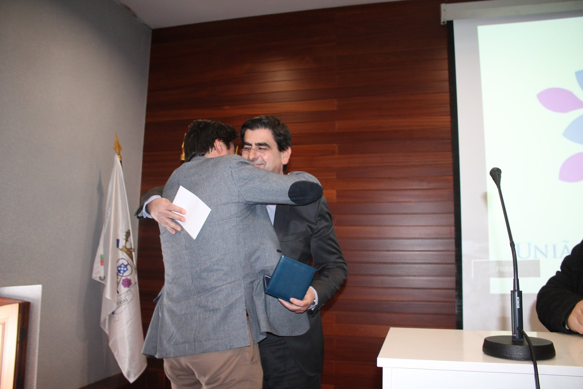 Diretor Geral e Mesário Nuno Gomes reconhecido