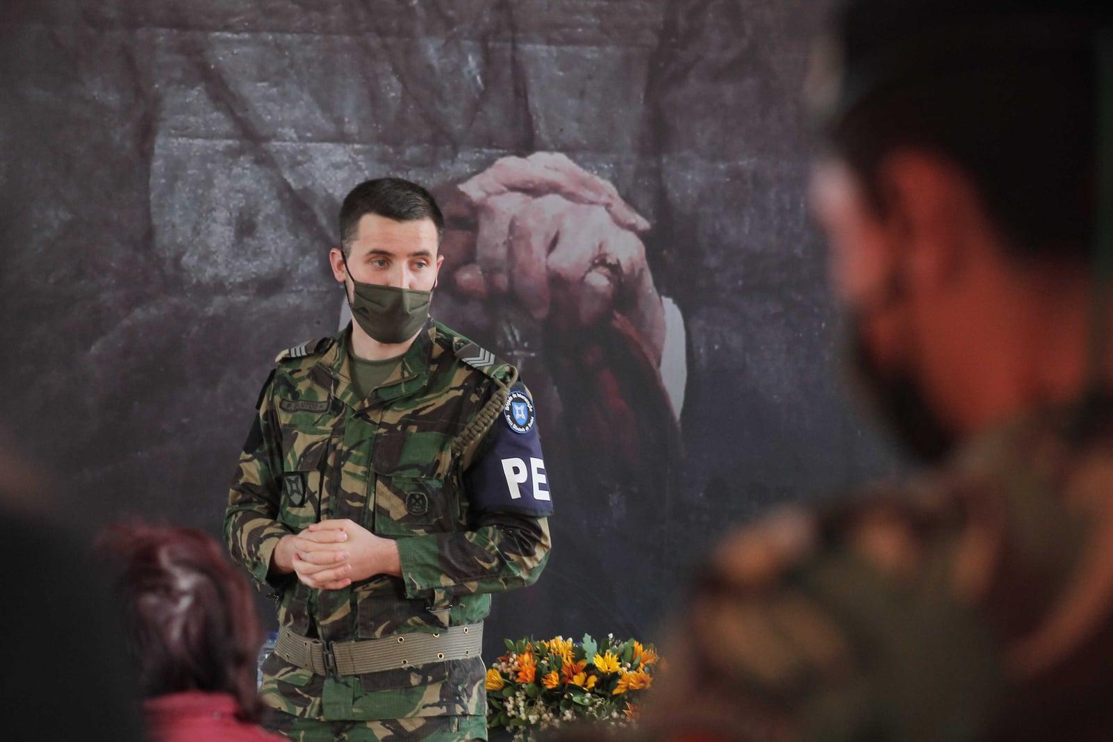 FORÇAS ARMADAS REALIZAM AÇÃO DE SENSIBILIZAÇÃO