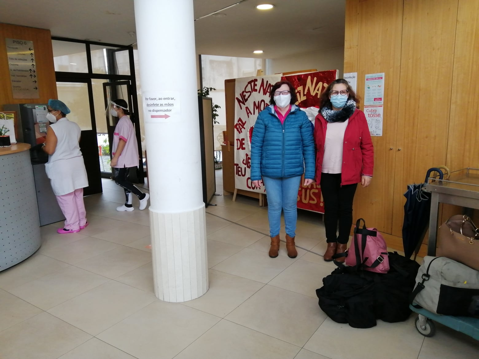 Misericórdias solidárias contra COVID-19
